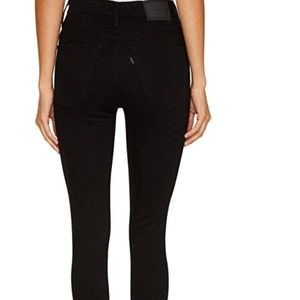Levi's Mile High Super Skinny Jeans black 28